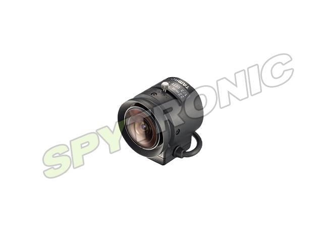 Fixed 2.2mm focal length lens, iris 1-3 and CS mount