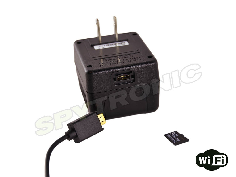 LawMate, AC Adapter hidden FHD camera Wi-Fi-IP