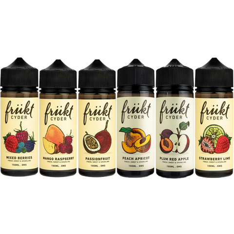 Frukt Cyder 100ml Shortfill