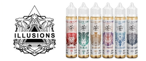 Illusions E-Liquid 50ml Shortfill