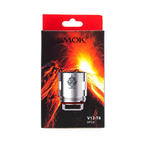 Smok TFV12 V12-T6 Atomizer Head (Pack of 3)