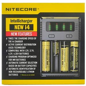 Nitecore I4 4 Bay Charger