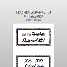 Load image into Gallery viewer, teacher survival kit
