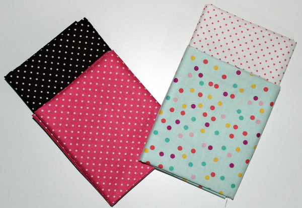 Riley Blake: Fat Quarter 4 Pack