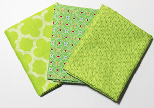 Riley Blake: Fat Quarter 3 Pack - Cozy/Glamper/Sparkle