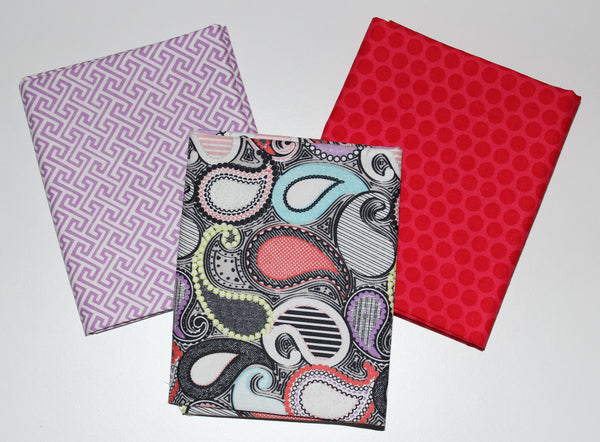 Riley Blake: Fat Quarter 3 Pack - Sundance/Honeycomb Dot