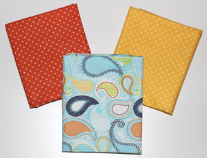 Riley Blake: Fat Quarter 3 Pack - Swiss Dots/Sundance