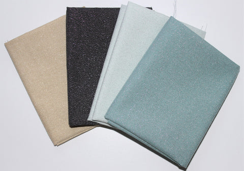 Cloud9 Fabrics: Fat Quarter 4 Pack - Glimmer Solids