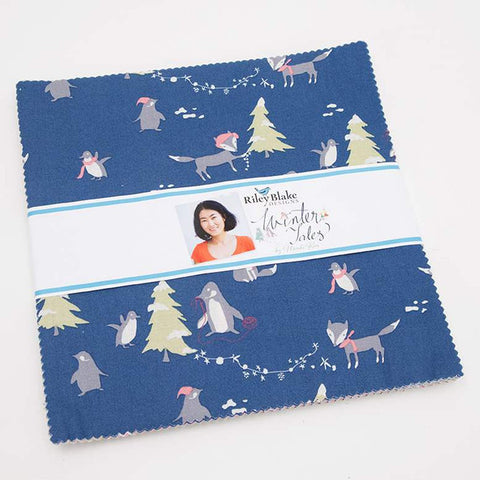 "Riley Blake: Winter Tales - 10"" 42 piece stack"