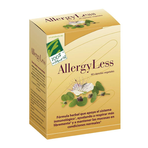 AllergyLess 60 cápsulas - 100% Natural