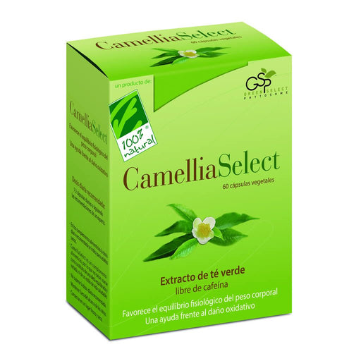 CamelliaSelect 60 cápsulas - 100% Natural