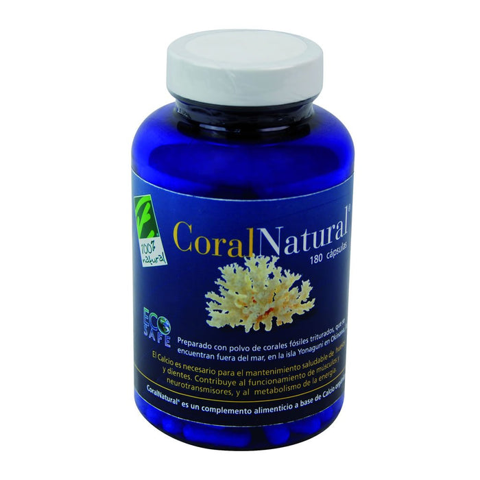 CoralNatural 180 cápsulas - 100% Natural