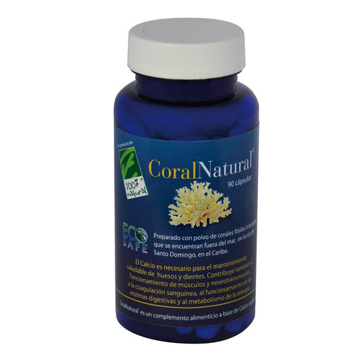 CoralNatural 90 cápsulas - 100% Natural