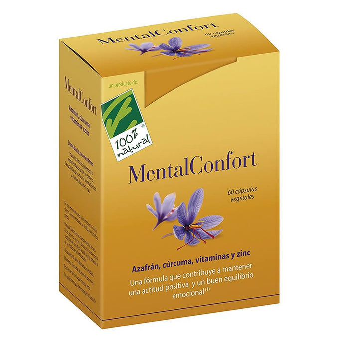 MentalConfort 60 cápsulas - 100% Natural