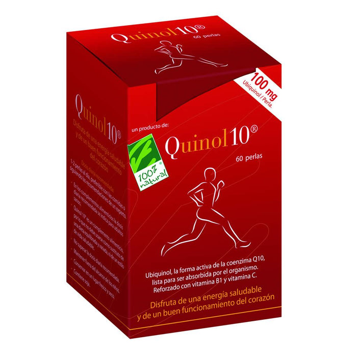 Quinol10 60 perlas 100mg - 100% Natural
