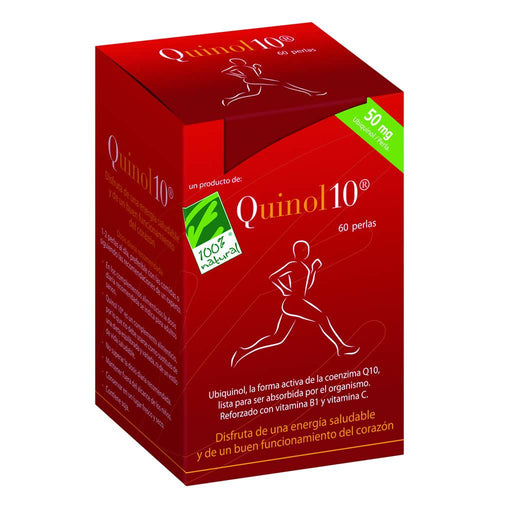 Quinol10 60 perlas 50mg - 100% Natural
