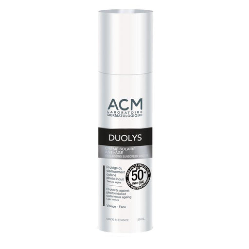Crema solar Anti-Edad DUOLYS SPF50+ 50ml. · ACM Laboratoires · Cosmética Natural · Secretos de Botica