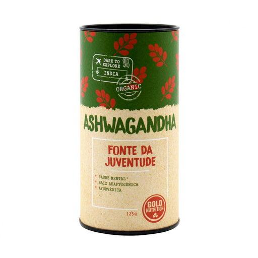Ashwagandha 125gr. · Gold Nutrition · Salud Natural · Secretos de Botica