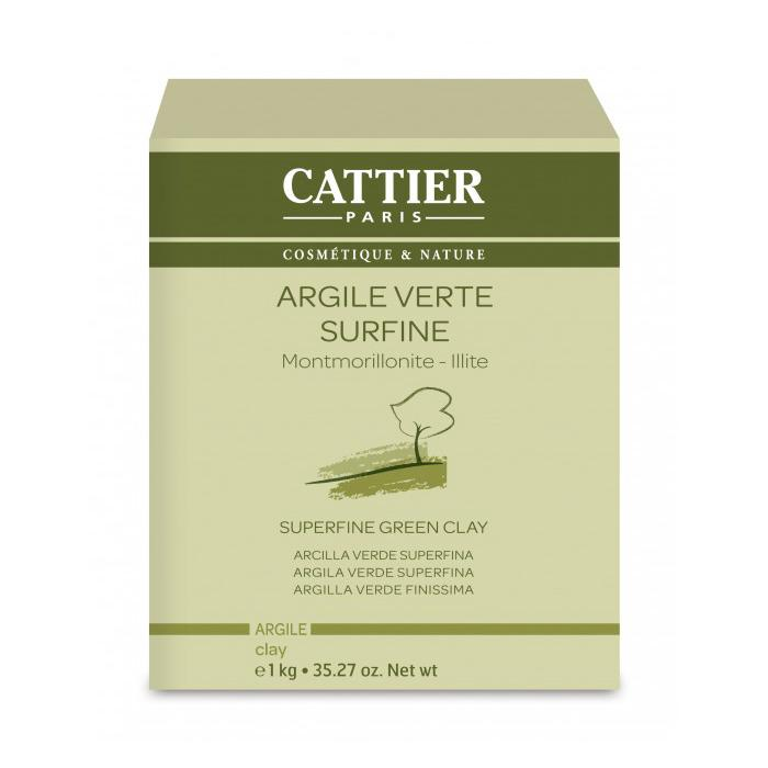 Arcilla verde superfina 1kg. · Cattier · Cosmética Natural · Secretos de Botica