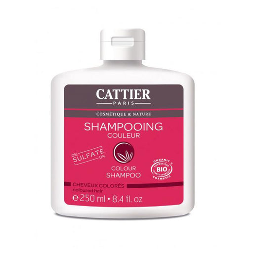 Champú color cabello teñido 250ml. - Cattier