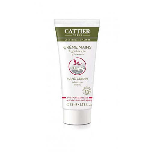 Crema de manos antimanchas y antiedad 75ml. - Cattier
