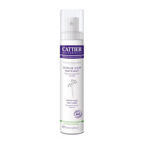 Crema matificante dia piel mixta-grasa 50ml. · Cattier · Cosmética Natural · Secretos de Botica