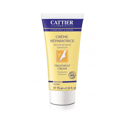 Crema reparadora pies secos 75ml. - Cattier