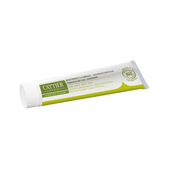 Dentífrico Dentargile anis antiplaca 75ml. - Cattier