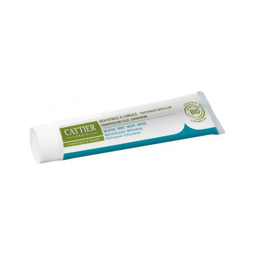 Dentífrico Dentargile menta refrescante 75ml. - Cattier