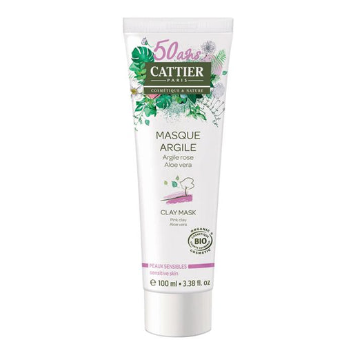 Mascarilla de arcilla rosa pieles sensibles 100ml. · Cattier · Cosmética Natural · Secretos de Botica