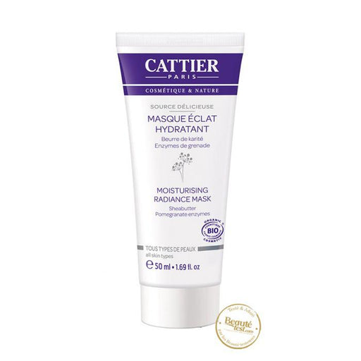 Mascarilla luminosidad hidratante 50ml. - Cattier
