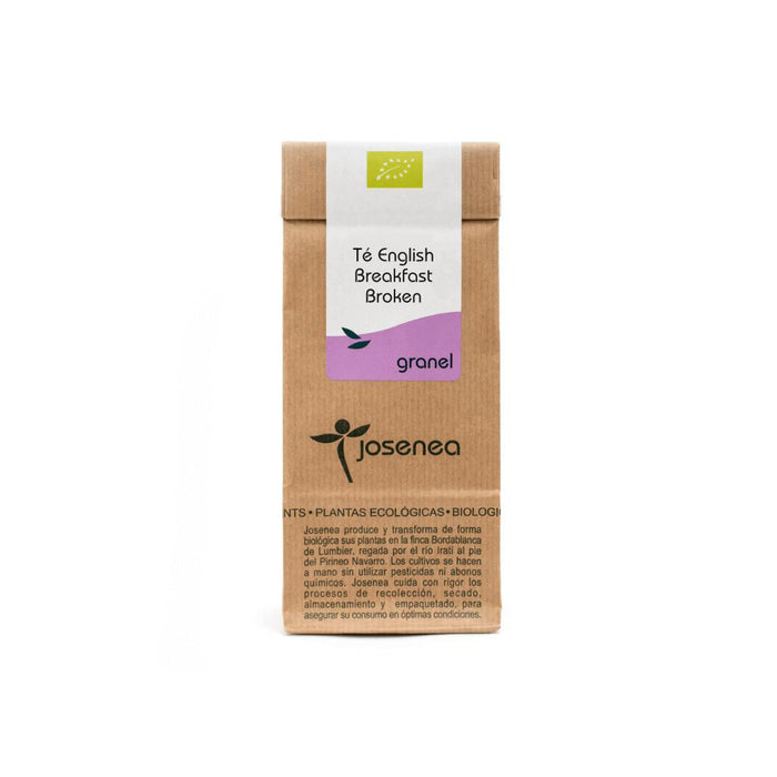 Té English Breakfast · Josenea BIO · Bolsa de papel kraft a granel con 50gr.