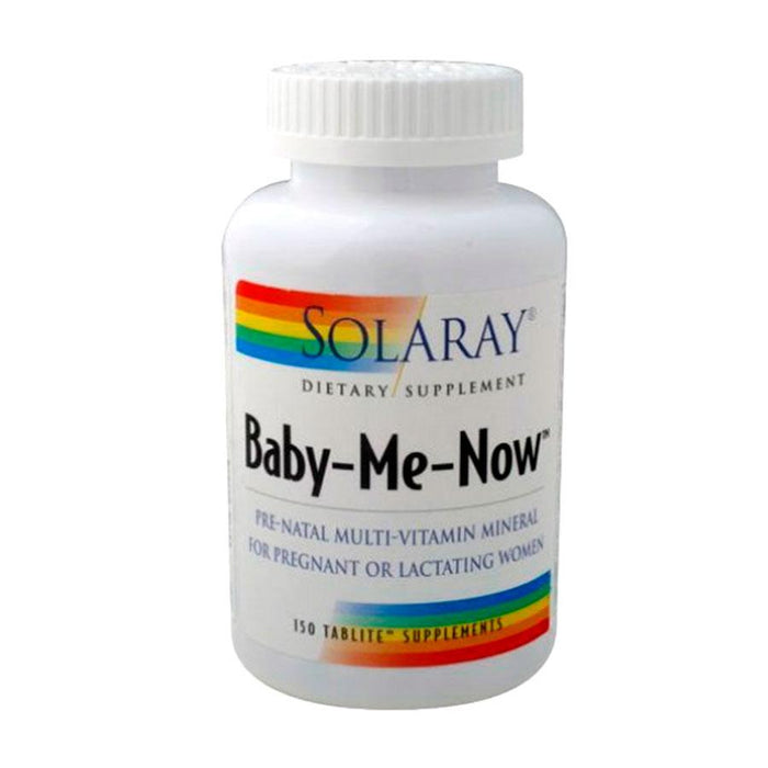Baby me now prenatal multi 150comprimidos - Solaray
