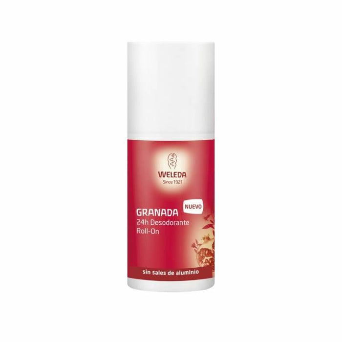 Desodorante Granada roll-on 50 ml. · Weleda · Cosmética Natural · Secretos de Botica