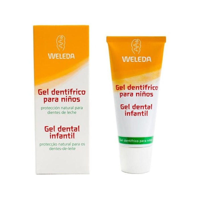 Gel dentífrico infantil 50 ml. - Weleda