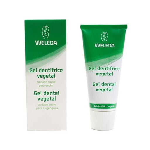 Gel dentífrico vegetal 75 ml. · Weleda · Cosmética Natural · Secretos de Botica