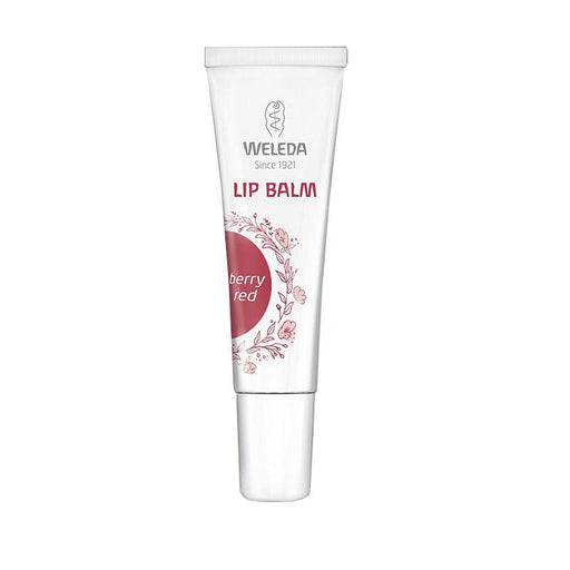 Lip Balm Berry Red 10ml. Brillo labial color frambuesa - Weleda