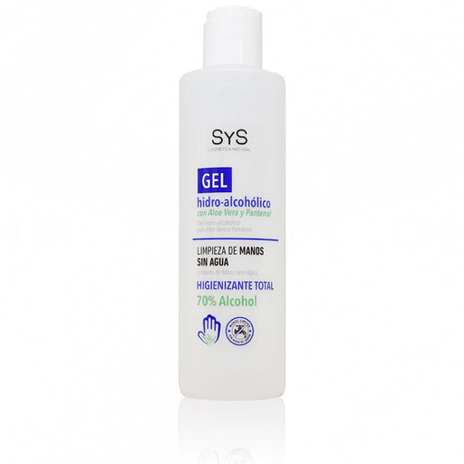Gel hidroalcohólico 250ml. Higienizante total 70% Alcohol · Laboratorios SYS Valencia · Secretos de Botica