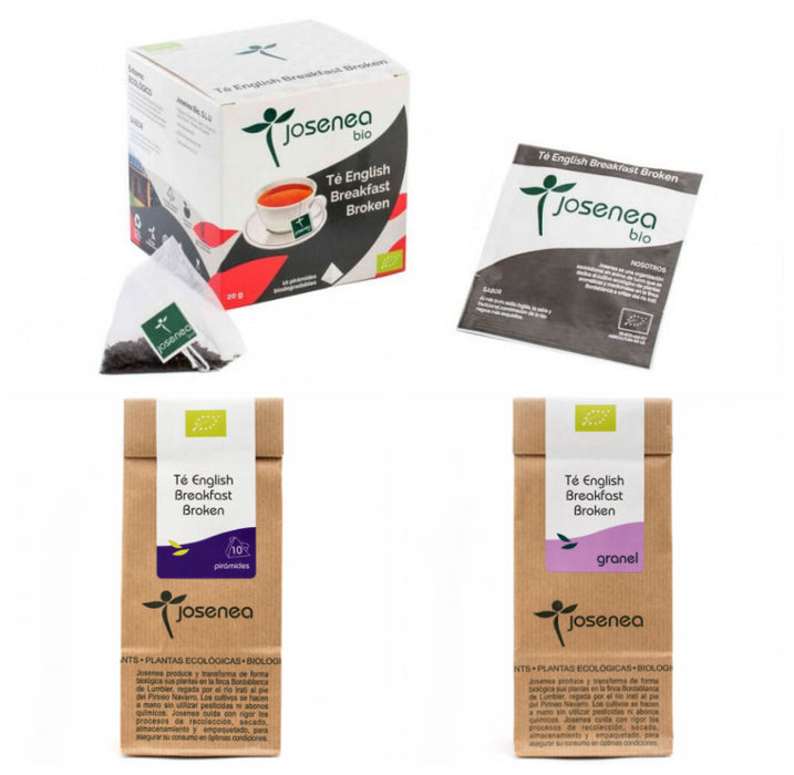 Té English Breakfast · Josenea BIO · Variantes