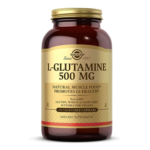 L-Glutamina 500mg 250 vegicaps · Secretos de Botica