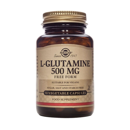 L-Glutamina 500mg 50 vegicaps · Secretos de Botica