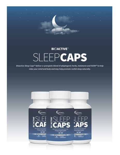 21e - Bioactive Sleep Caps with ISO99 - Revive IV Lounge & Pro Performance US - Best USA Supplements, FDA Approved