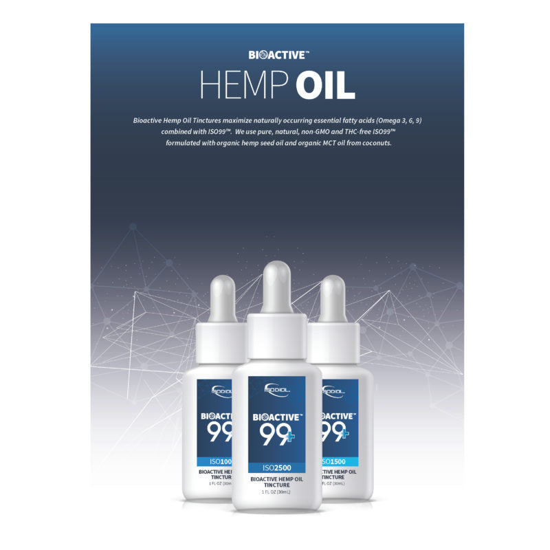Bioactive 99+ Hemp Oil (1250mg) - Revive Therapy and Wellness