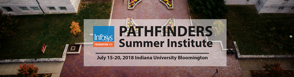 Firia Labs at Infosys Foundation USA: Pathfinder Summer Institute in Bloomington on Jul 15-17