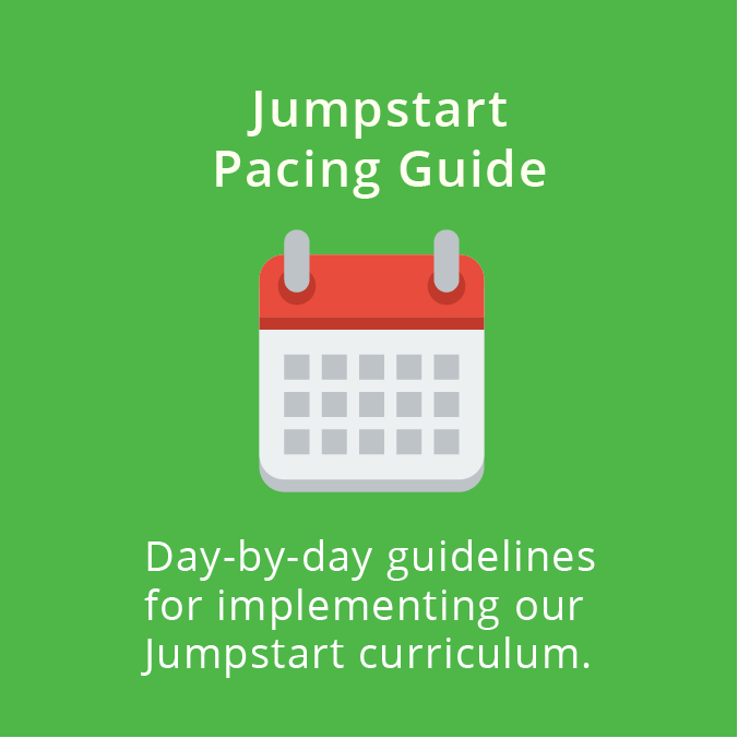 Jumpstart Pacing Guide