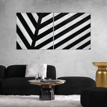 Load image into Gallery viewer, Black & White Abstract Art Print