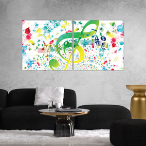 Music Abstract Art Print