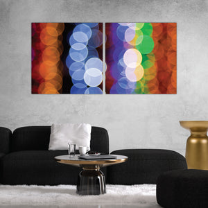 Abstract Lights Art Print