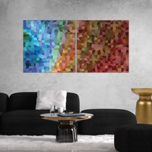 Load image into Gallery viewer, Mosaic Abstract Art Print