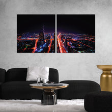 Load image into Gallery viewer, City Night Lights Print